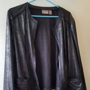 """Chico's black """"business casual"""" jacket"""